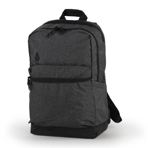 Volcom Men's Backpack ~ School charcoal heather
