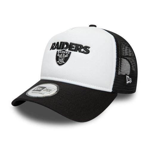 New Era Team Arch Snapback Trucker Men's Cap ~ LA Raiders