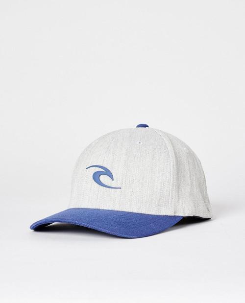 Rip Curl Men's Flexfit Cap ~ Tepan Weld grey