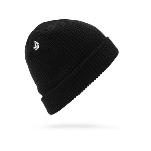 Volcom Men's Cuff Knit Beanie ~ Full Stone black