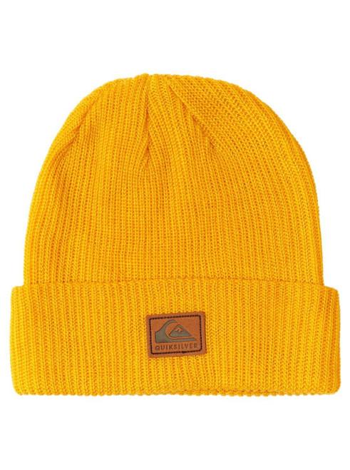 Quiksilver Men's Cuff Knit Beanie ~ Performer 2 yellow