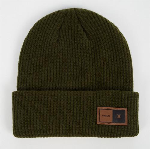 Hurley Men's Cuff Knit Beanie ~ Northridge green