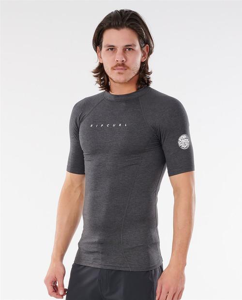 Rip Curl Men's Short Sleeve Rash Vest ~ Dawn Patrol UV