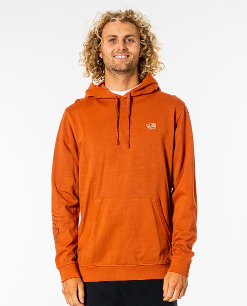 Rip Curl Surfers Hood Fleece ~ Originals red dirt