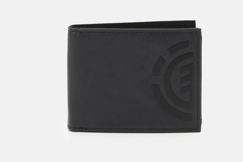 Element Bifold Wallet with CC, Note and Coin Pockets ~ Daily Elite black