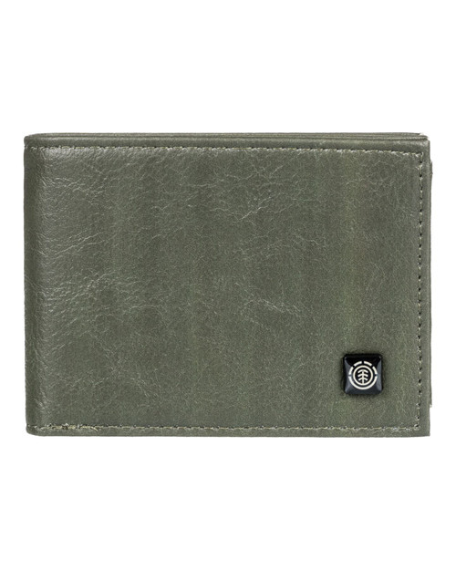 Element Bifold Wallet with CC, Note and Coin Pockets ~ Segur army