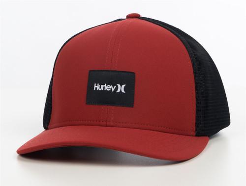 Hurley Men's Trucker Snapback Cap ~ Warner red