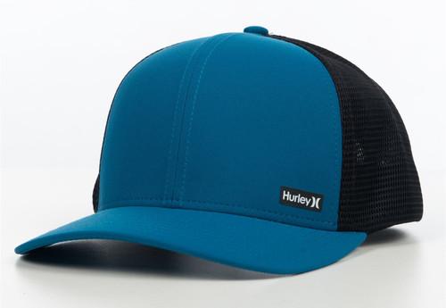 Hurley Men's Trucker Snapback Cap ~ Hurley League blue