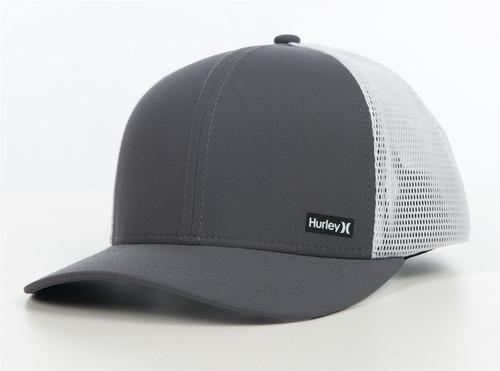 Hurley Men's Trucker Snapback Cap ~ Hurley League grey