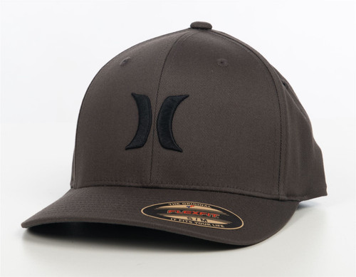 Hurley Men's Flexfit Cap ~ One and Only grey