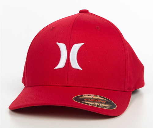Hurley Men's Flexfit Cap ~ One and Only red
