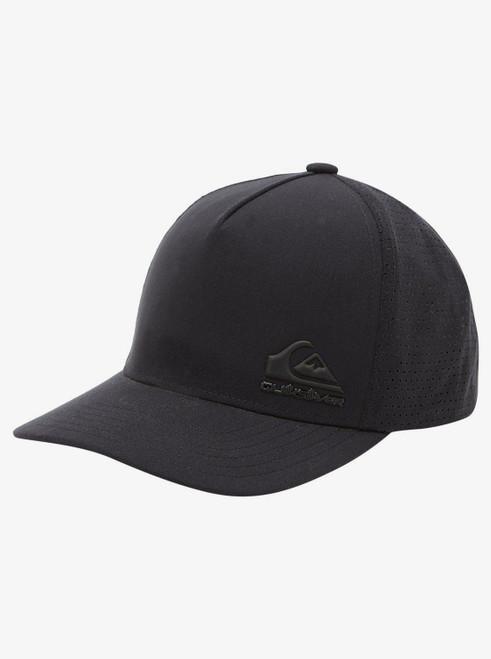 Quiksilver Men's Trucker Snapback Cap ~ Imagine black