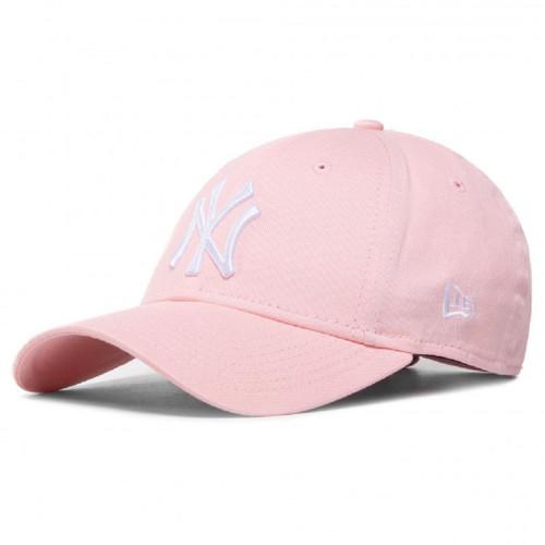New Era Women's League Essential 9Forty Cap ~ New York Yankees pink