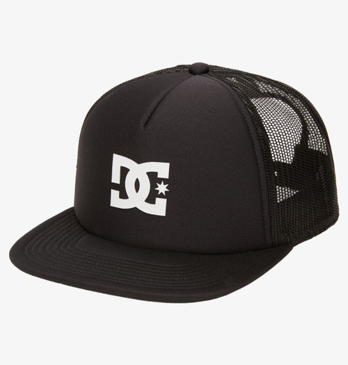 DC Shoes Mens Snapback Trucker Cap ~ Gasstation black