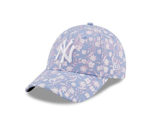 New Era Women's Floral Adjustable 9Forty Cap ~ New York Yankees