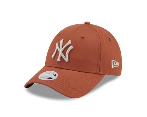 New Era Women's League Essential 9Forty Cap ~ New York Yankees brown