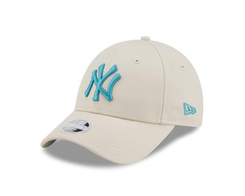 New Era Women's League Essential 9Forty Cap ~ New York Yankees stone