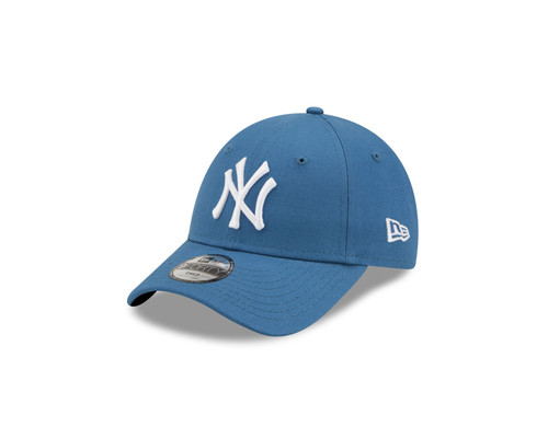 New Era Kids League Essential 9Forty Adjustable Cap ~ New York Yankees mid blue