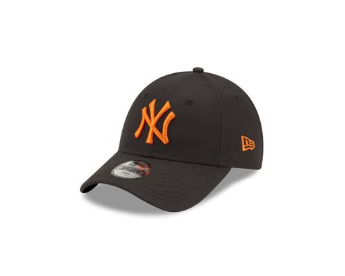 New Era Kids League Essential 9Forty Adjustable Cap ~ New York Yankees orange