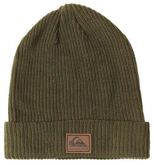 Quiksilver Men's Cuff Knit Beanie ~ Performer 2 olive