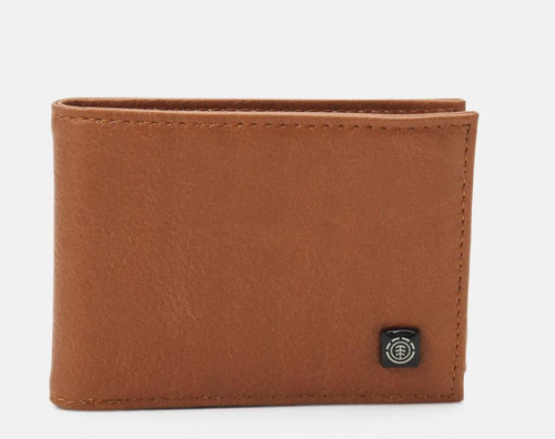 Element Bifold Wallet with CC, Note and Coin Pockets ~ Segur ginger
