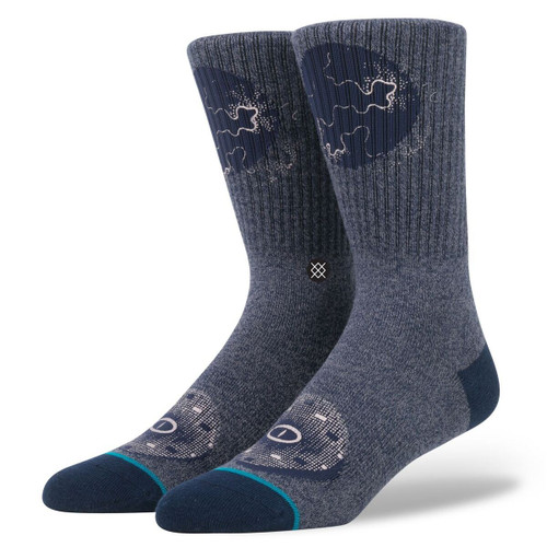 Stance Blue Mens Socks ~ Deception