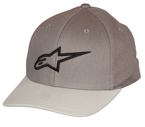 Alpinestars Flexfit Curve Cap ~ Ageless ch/gy