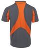Grey/Orange Back