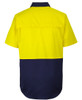 6HVCW - Hi Vis Close Front S/S 150G Work Shirt