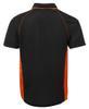 Black/Orange Back