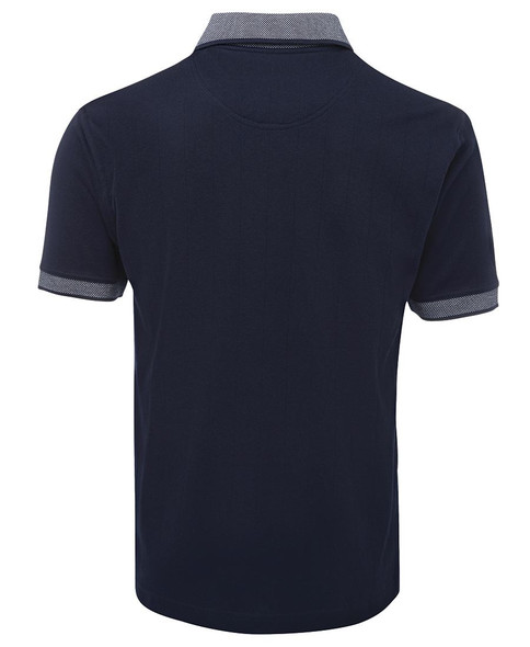 Navy/White Back