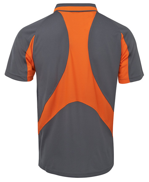 Grey/Orange Back
