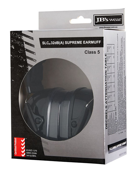 8M001 - JB'S 32DB SUPREME EAR MUFF