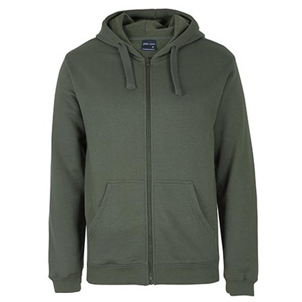 3PZH - JB's Adults P/C Full Zip Hoodie - Army