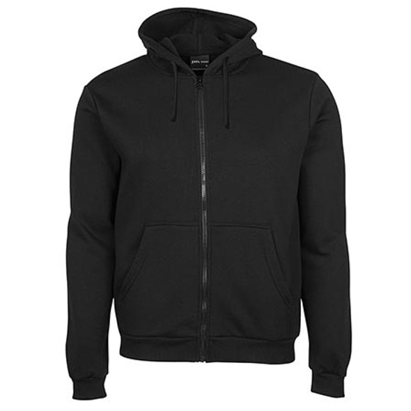 3PZH - JB's Adults P/C Full Zip Hoodie - Black