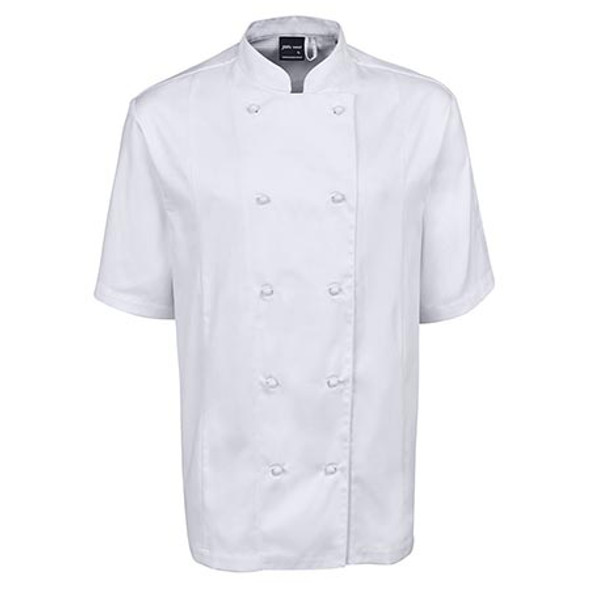 5CVS -JB's Vented Chefs S/S Jacket - White