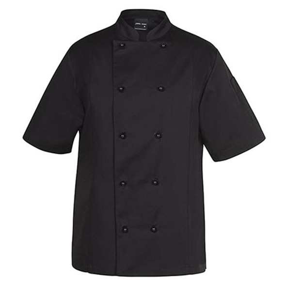 5CVS -JB's Vented Chefs S/S Jacket - Black