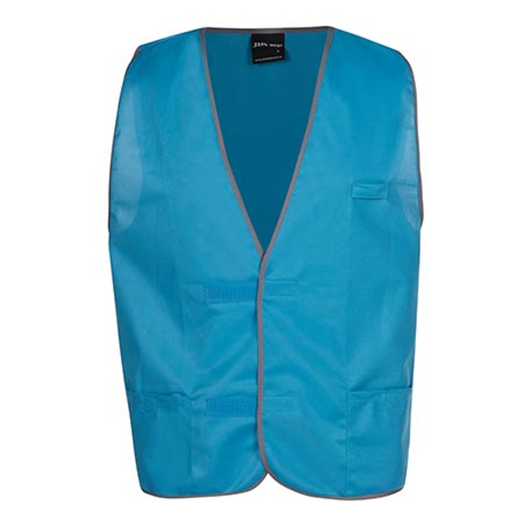 6HFV - JB's Coloured Tricot Vest - Aqua