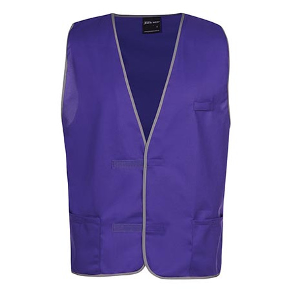 6HFV - JB's Coloured Tricot Vest - Purple