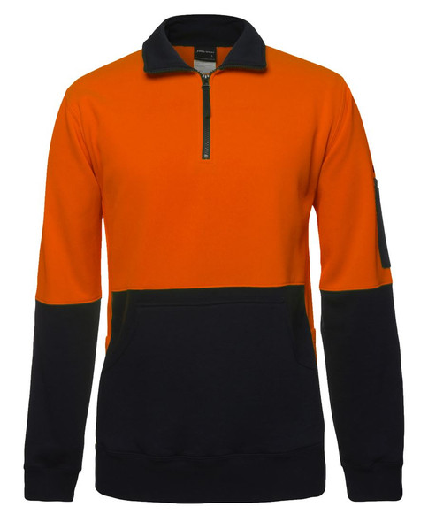 6HVPZ - Hi Vis 330G 1/2 Zip Fleece