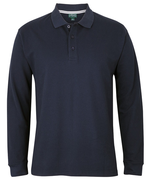 S2ML - JB's C of C L/S Pique Polo
