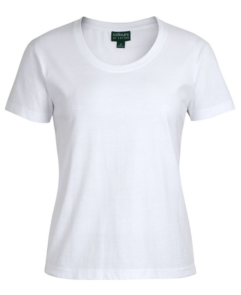 1CCT1 - JB's C of C Ladies Crew Neck Tee