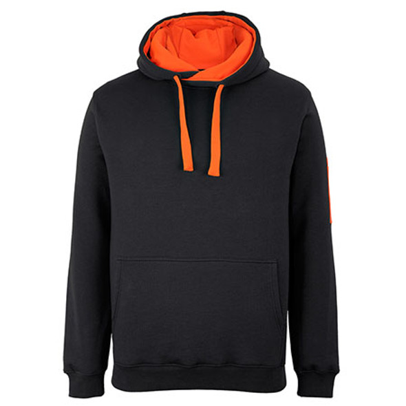 Black-Orange - 6CFH JBs 350 Trade Hoodie - JBs Wear