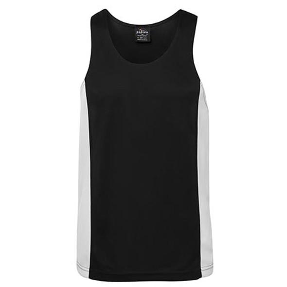 7PCS - JB's Contrast Singlet - Black/White