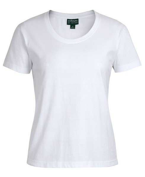 1CCT1 - JB's C of C Ladies V-Neck Tee