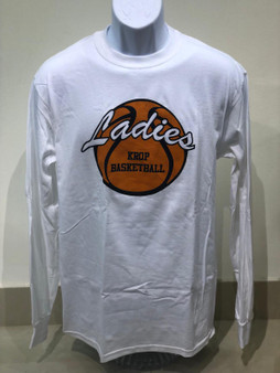 Krop Basketball Ladies Crew Neck L/S