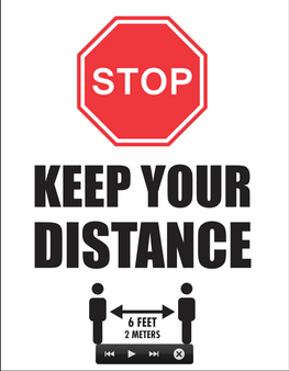 """Keep Your Distance"""