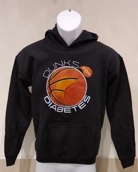 Gildan Basketball Logo Heavy Blend Hooded Sweatshirt (Youth)
