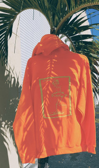 Safety Orange Hoodie