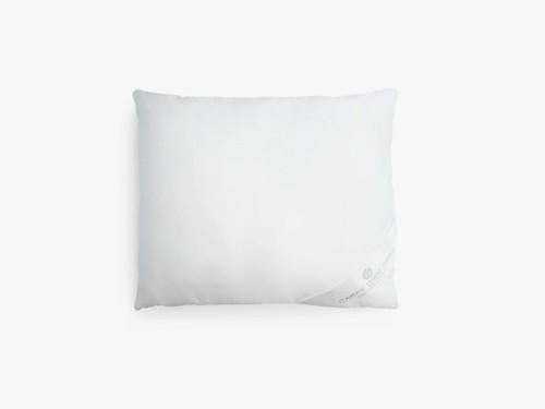 Kudde av mullbärssilke, medium hög, vit